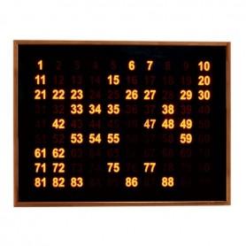 Panneau d'affichage électronique loto - Format moyen