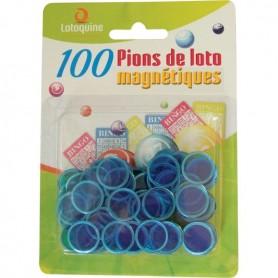 24 x 100 pions loto magnétiques