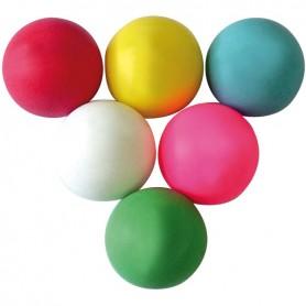 10 balles loto unicolores Ø 38 mm vierges