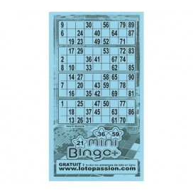 252 feuillets Mini-bingo +