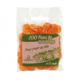 50 sachets de 100 pions loto de marquage