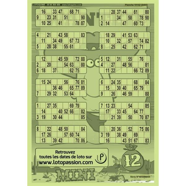 84 feuillets Mini 12