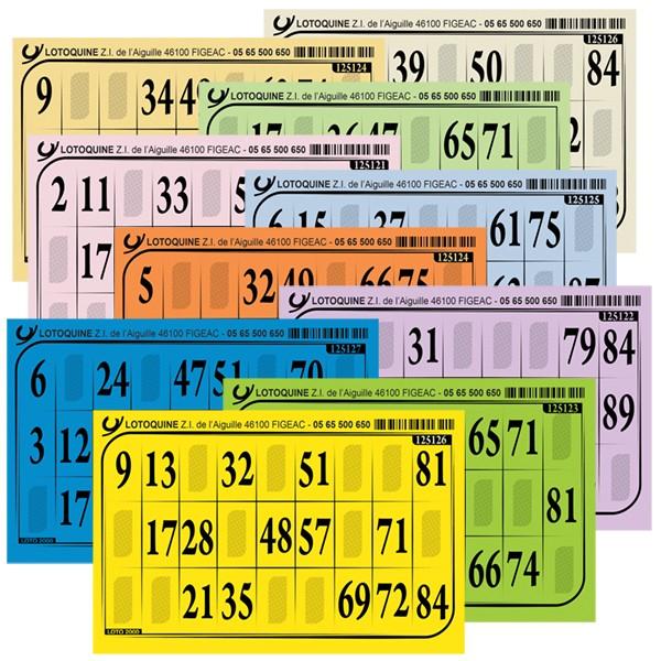 Carton loto Très épais - 500 exemplaires - Tradition