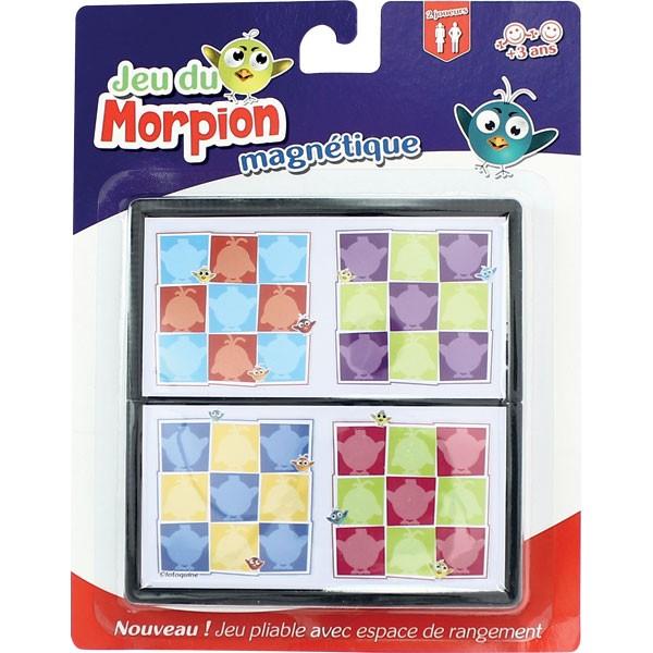12 Jeux pliables magnétiques - Morpions