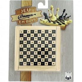 12 Jeux en bois - Jeu de Dames