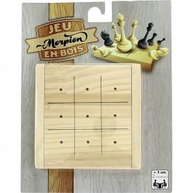 12 Jeux en bois - Jeu de morpion
