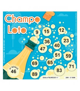 336 feuillets Champo Loto