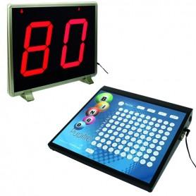 Pupitre Bingo + afficheur Grand format