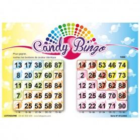 1008 feuillets Candy Bingo