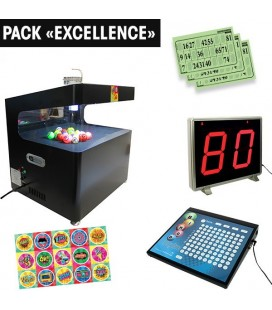 "Pack ""Excellence"" : Lotopop & Art + Pupitre + Afficheur"