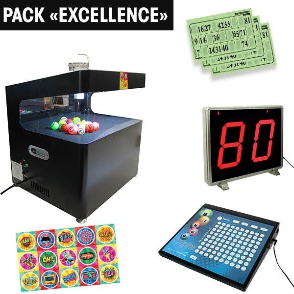 """Pack """"Excellence"""" : Lotopop & Art + Pupitre + Afficheur"""