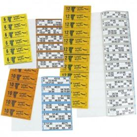 Carnets 6/12 tickets Petit modèle