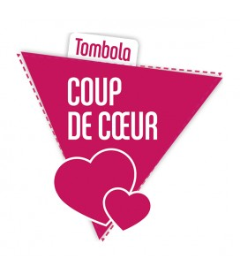 Tombola Coup de Coeur : tickets & lots
