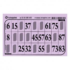 500 cartons rigide lilas - série 102
