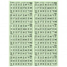 83 plaques de 12 grilles très épais vert - série 110