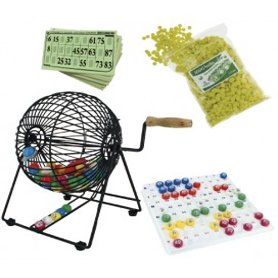 """Pack """"Clés-en-main"""" : Boulier pro + 1000 cartons de loto + 5000 pastilles de marquage"""
