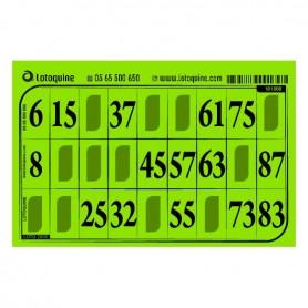 1000 cartons feuille vert menthe - série 106