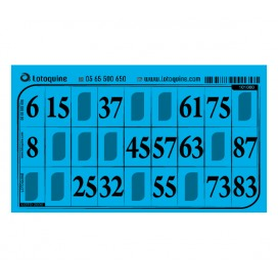 1000 cartons feuille turquoise - série 46