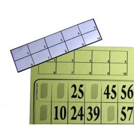 100 étiquettes cartons en plaques