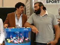Lotoquine transforme l'essai avec Chabal Sport