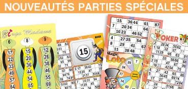 Parties spéciales Lotoquine